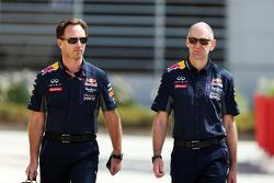 Christian Horner, Red Bull Racing-teambaas met Adrian Newey, Red Bull Racing Chief Technical Officer