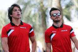 Роберто Мери, Manor F1 Team и Уилл Стивенс, Manor F1 Team