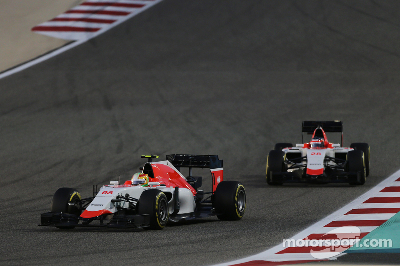 Roberto Merhi, Manor F1 Team, vor Will Stevens, Manor F1 Team