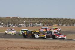 Matias Rossi, Donto Racing Chevrolet Leonel Pernia, Las Toscas Racing Chevrolet Juan Marcos Angelini