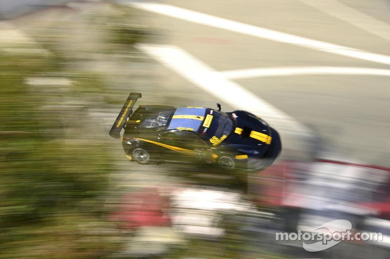 #65 Scuderia Corsa, Ferrari 458 GT3: Mike Hedlund