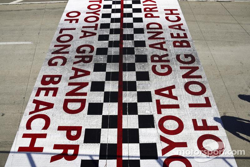 Лонг-Біч GP start finish line