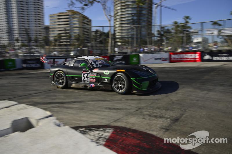 #54 黑天鹅车队,梅赛德斯-奔驰AMG SLS GT3: Tim Pappas