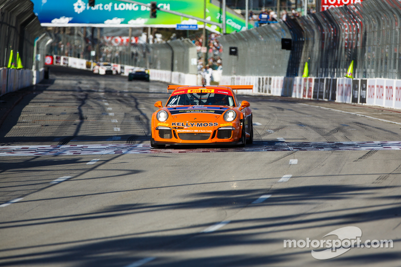 #11 Kelly-Moss Motorsports, Porsche 911 GT3 Cup: Colin Thompson