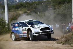 Elfyn Evans und Daniel Barrit, M-Sport World Rally Team, Ford Fiesta RS WRC