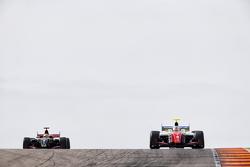 Oliver Rowland, Fortec Motorsports, dan Matthieu Vaxivière, Lotus