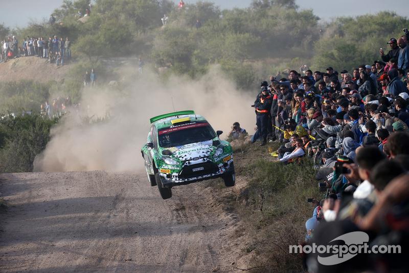 Yurii Protasov und Pavlo Cherepin, Ford Fiesta Rrc