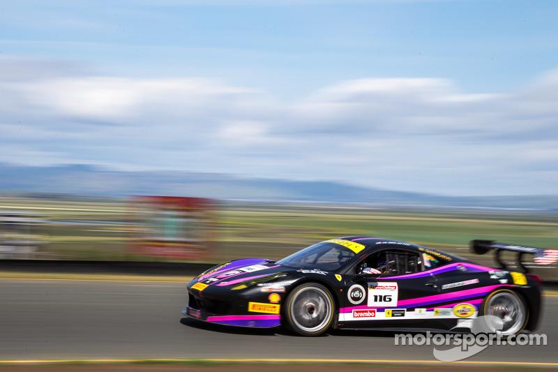 #116 Miller Motorcars Ferrari 458: Al Delattre