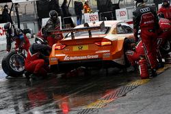 Arrêt aux stands de Jamie Green, Audi Sport Team Rosberg Audi RS 5 DTM