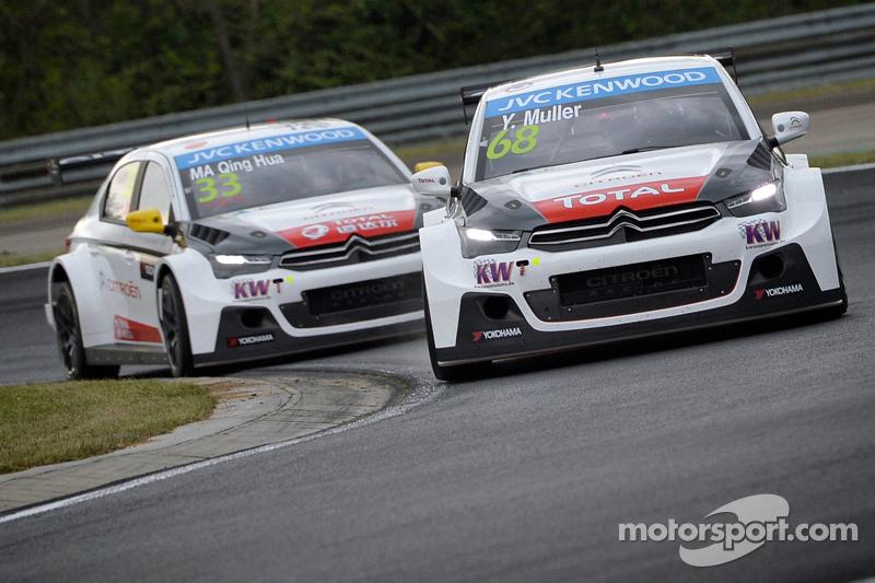 Yvan Muller, Ma Qing Hua, Citroën World Touring Car Team C-Elysée