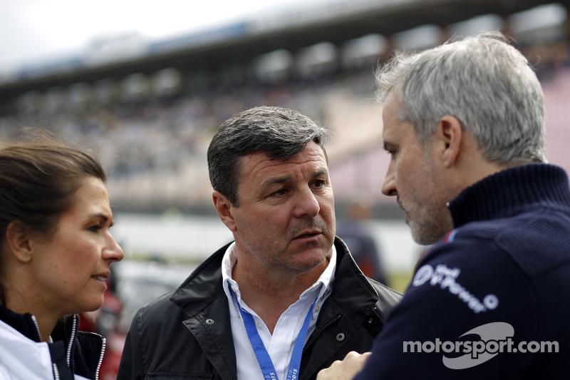 Martin Brundle und Jens Marquardt, BMW-Sportchef