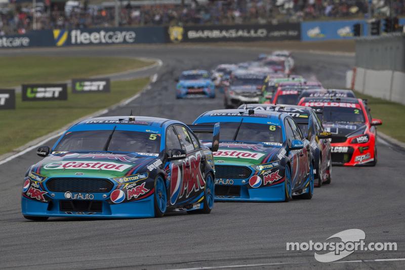 Mark Winterbottom und Chaz Mostert, Prodrive Racing Australia, Ford