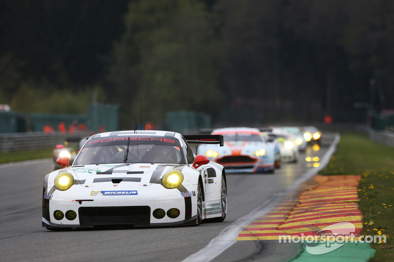 #91 保时捷车队Manthey 911 RSR: Richard Lietz和Michael Christensen