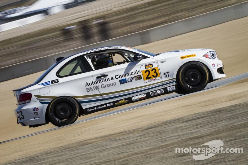 #23 Burton Racing, BMW 128i: Terry Borcheller, Mike LaMarra