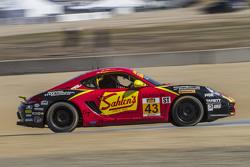 #43 Team Sahlen Porsche Cayman: Джефф Сегал, Wayne Nonnamaker