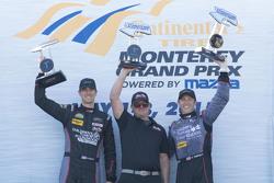 GTD-Sieger #73 Park Place Motorsports, Porsche 911 GT America: Patrick Lindsey, Spencer Pumpelly