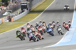 La salida: Jorge Lorenzo, Yamaha Factory Racing