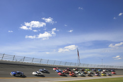 Pack-Racing in Talladega