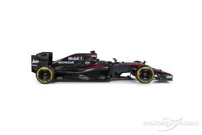 Teaser de la livrée McLaren