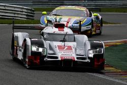 #7 奥迪运动车队,奥迪R18 e-tron quattro Hybrid: Marcel Fässler, André Lotterer, Benoît Tréluyer