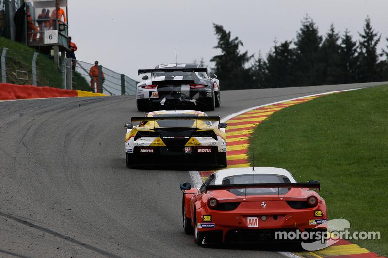 #55 AF Corse Ferrari F458 Italia: Данкан Камерон, Метт Гріффін, Alexта er Mortimer