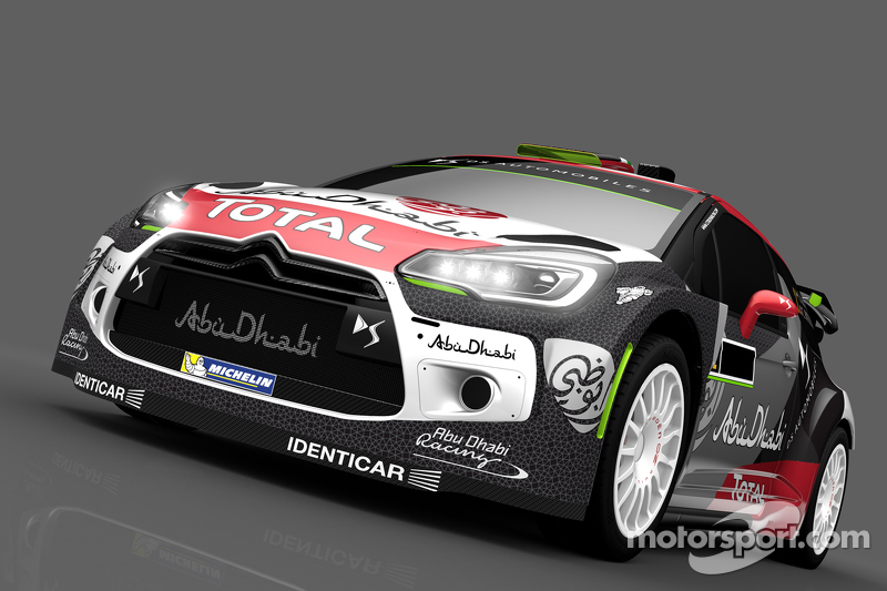 Farbdesign für Khalid Al-Qassimi und Chris Patterson, Citroën DS3, Citroën World Rally Team