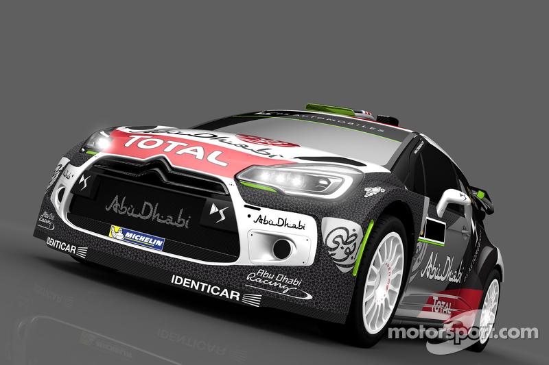 Farbdesign für Kris Meeke und Paul Nagle, Citroën DS3 WRC, Citroën World Rally Team