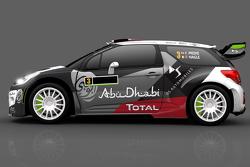 Presentación del auto de Kris Meeke y Paul Nagle, Citroën DS3 WRC, Citroën World Rally Team