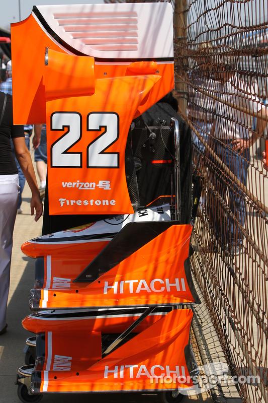 Simon Pagenaud, Team Penske, Chevrolet, Detail