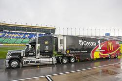Hauler of Jamie McMurray, Ganassi Racing Chevrolet