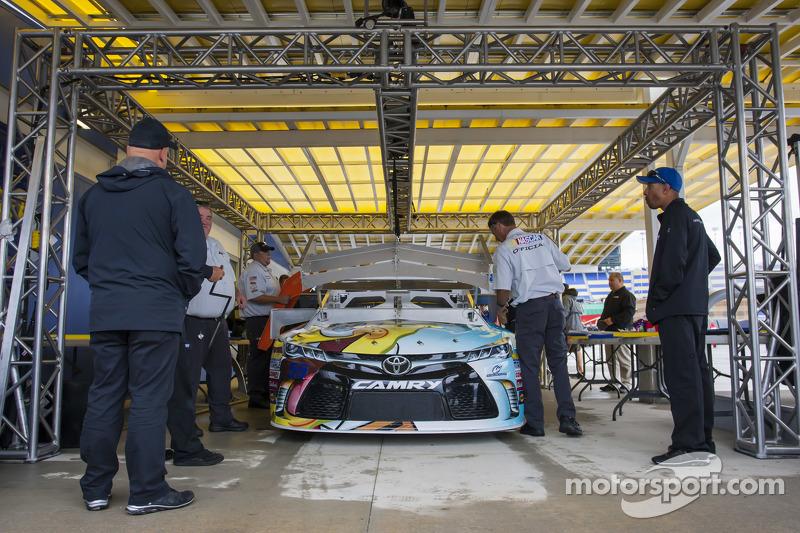 Das Auto von David Ragan, Michael Waltrip Racing, Toyota