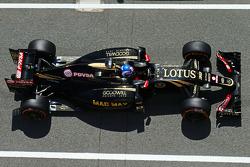 Jolyon Palmer, Lotus F1 E23 test- en reservecoureur