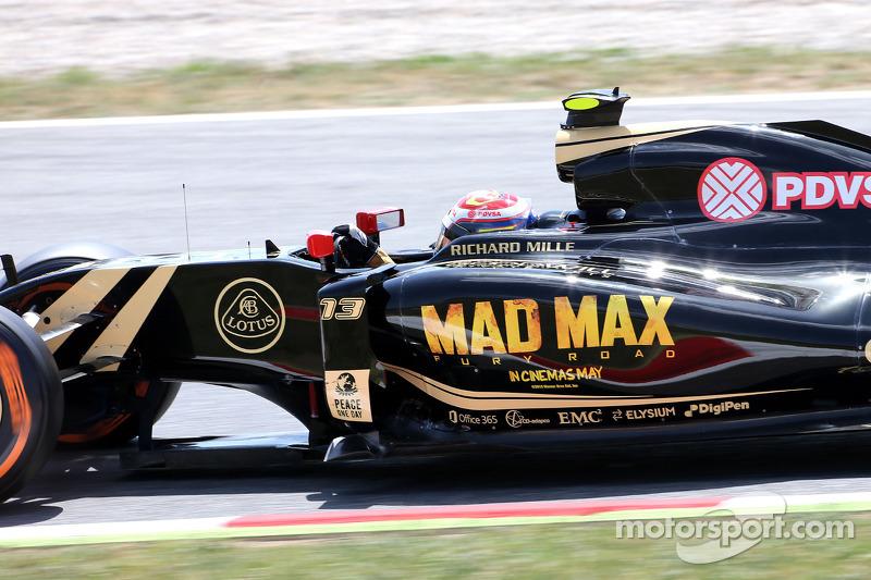 帕斯托·马尔多纳多, 路特斯F1车队