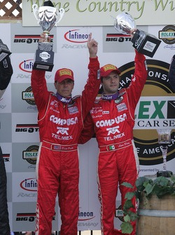 Podium: #01 CompUSA Chip Ganassi with Felix Sabates Lexus Riley: Scott Pruett, Luis Diaz