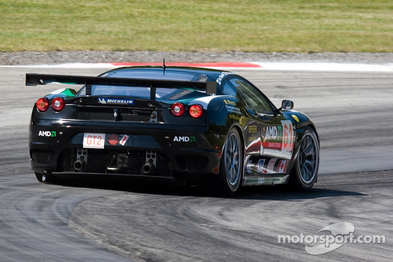 #61 Risi Competizione Ferrari 430 GT Berlinetta: Toni Vliander, Maurizio Mediani
