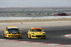 #188 i-MOTO Racing Acura: Glenn Bocchino, Roger Foo, #70 SpeedSource Mazda RX-8: David Haskell, Sylvain Tremblay