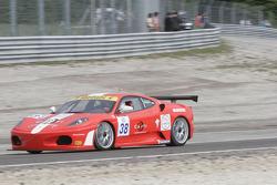 #38 JMB Racing Competition Ferrari 430 Challenge GT3: Massimo Cattori, Miguel Iacovacci