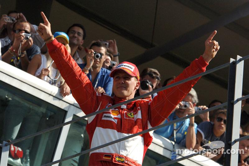 Podium: 1. Michael Schumacher