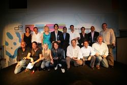 Winning Attitudes Awards winners group on stage