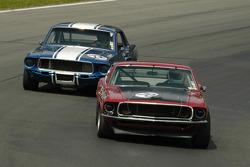 Trans-Am Mustang battle in turn 6