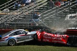 Jay Policastro crashes