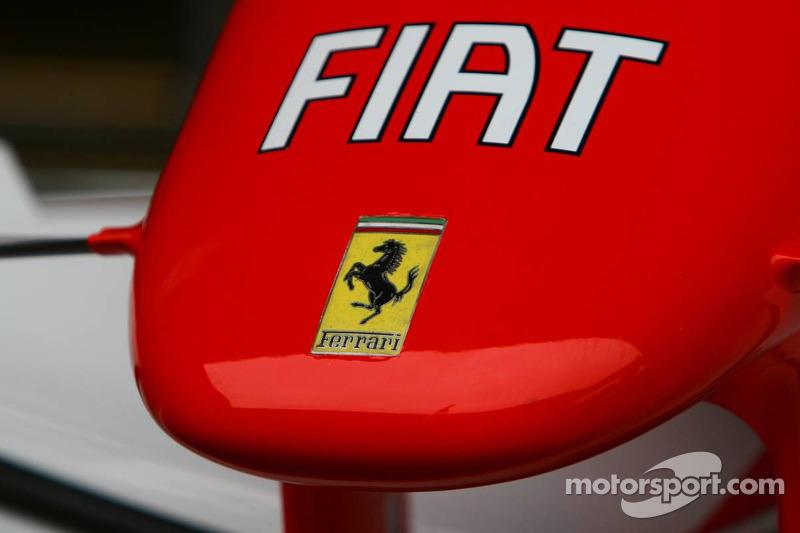 Cono de nariz de Ferrari
