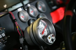 Instrument panel of the Wyler Racing Toyota
