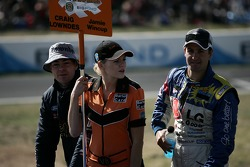 Craig Lowndes and Jamie Wincup