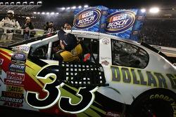 2006 NASCAR Busch Series Champion Kevin Harvick celebrates