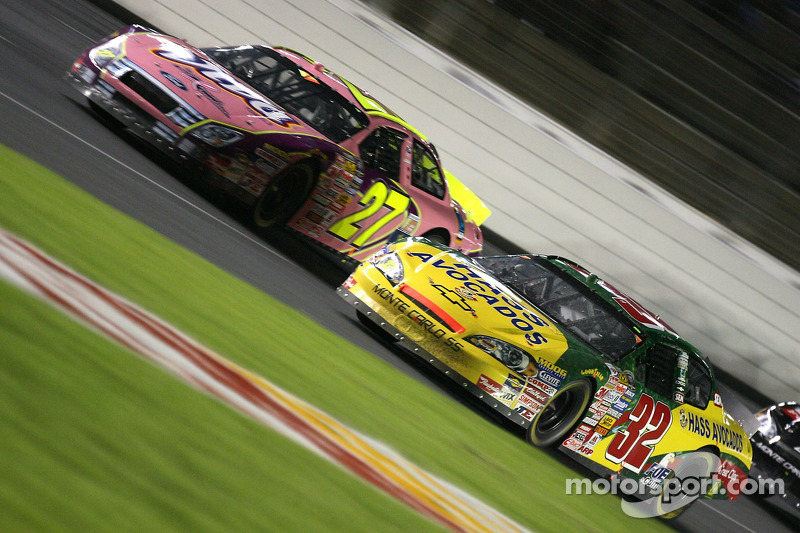 Dave Blaney et Casey Atwood