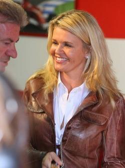Willi Weber with Corina Schumacher