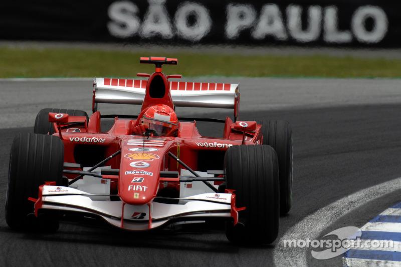 2006: el primer retiro de Schumacher