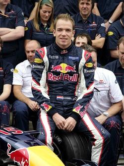 Red Bull Racing team photo: Robert Doornbos