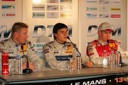 Mika Hakkinen, Bruno Spengler and Tom Kristensen